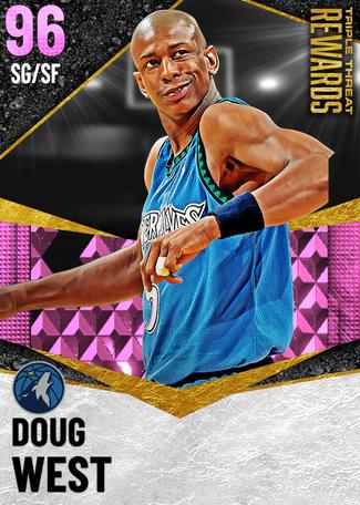 '93 Doug West pinkdiamond card