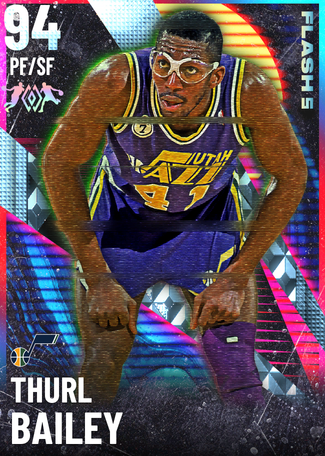 '88 Thurl Bailey diamond card