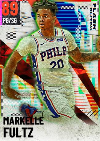 Markelle Fultz ruby card