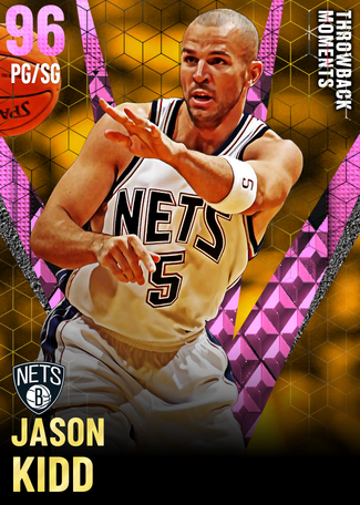'13 Jason Kidd pinkdiamond card