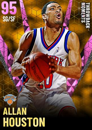 '05 Allan Houston pinkdiamond card