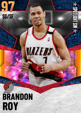 '12 Brandon Roy opal card
