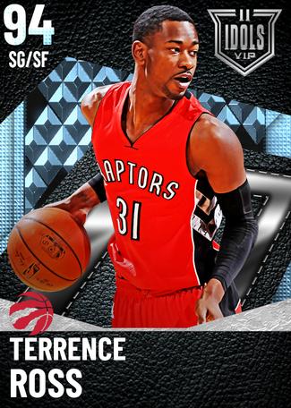 Terrence Ross diamond card