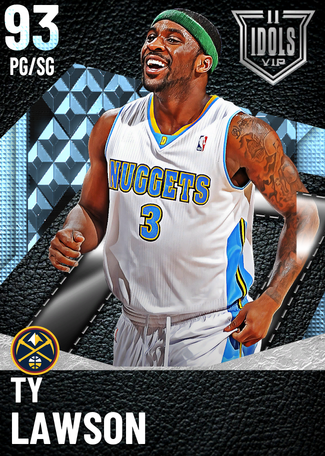 Ty Lawson diamond card