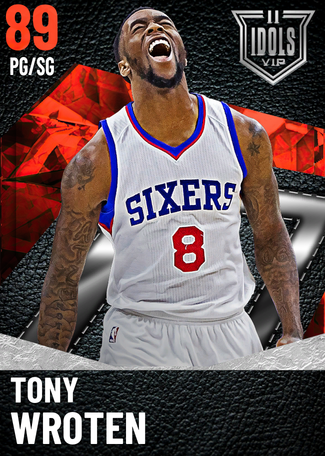 Tony Wroten ruby card