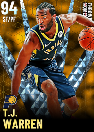 T.J. Warren diamond card