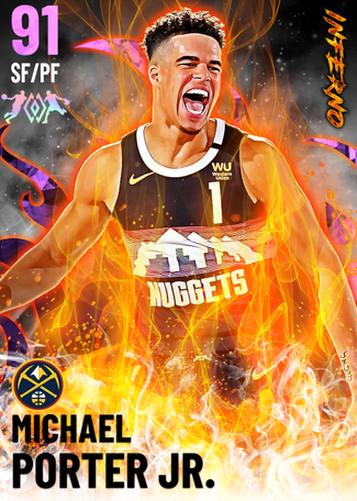 Michael Porter Jr. amethyst card