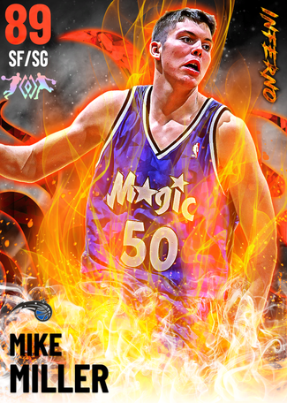 Mike Miller ruby card