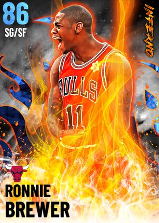 Ronnie Brewer sapphire card