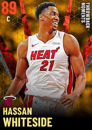 Hassan Whiteside ruby card