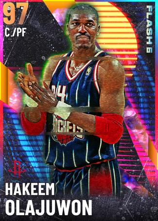 '94 Hakeem Olajuwon opal card