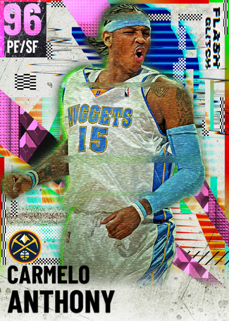 '13 Carmelo Anthony pinkdiamond card