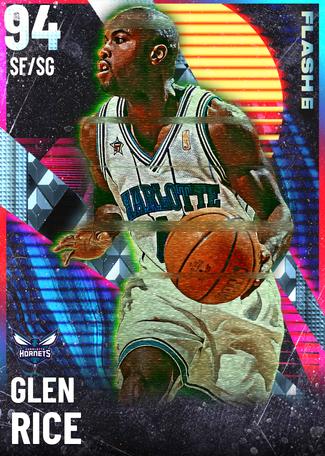 '97 Glen Rice diamond card