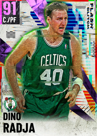 '94 Dino Radja amethyst card