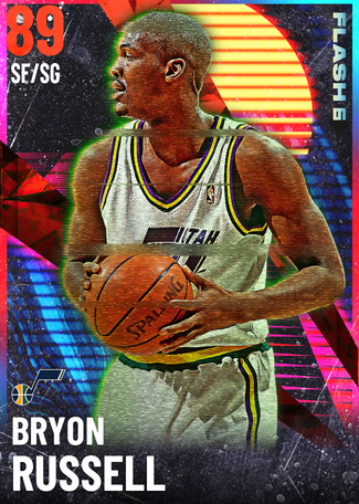 '98 Bryon Russell ruby card