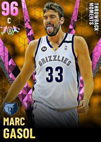 Marc Gasol pinkdiamond card