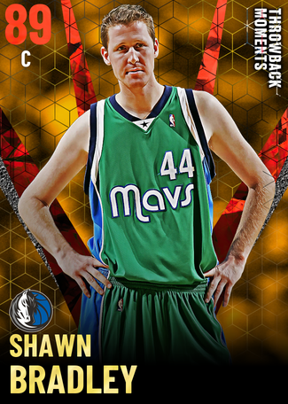 '05 Shawn Bradley ruby card