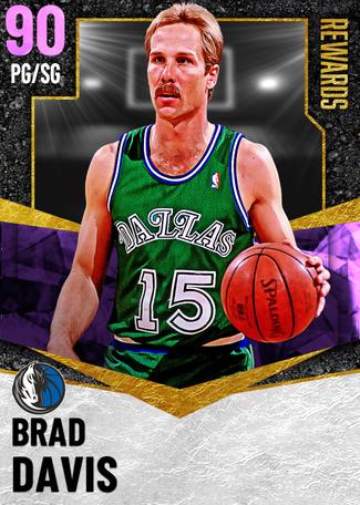'83 Brad Davis amethyst card