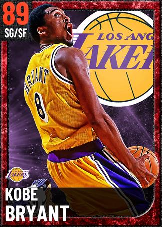 '03 Kobe Bryant ruby card