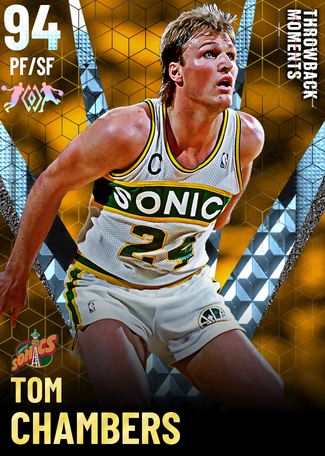 '98 Tom Chambers diamond card