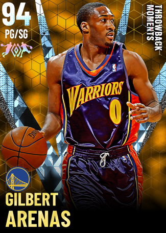 '07 Gilbert Arenas diamond card