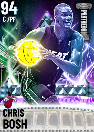 '12 Chris Bosh diamond card