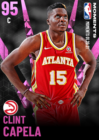 Clint Capela pinkdiamond card