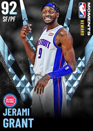 Jerami Grant diamond card
