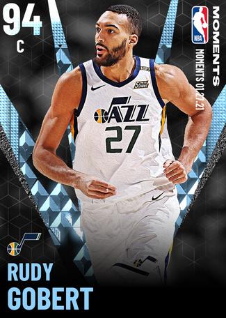 Rudy Gobert diamond card