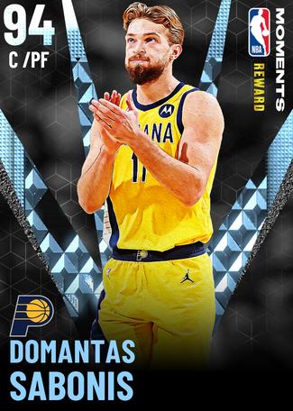 Domantas Sabonis diamond card