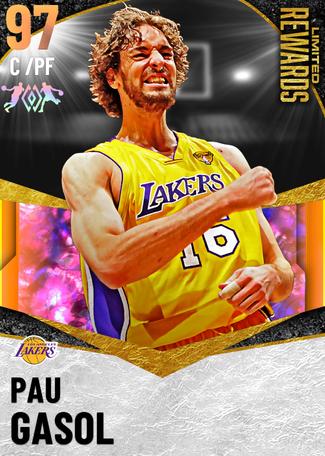 '18 Pau Gasol opal card