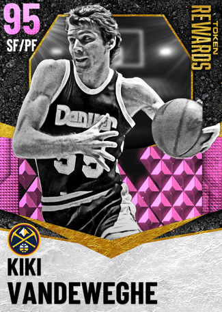 '93 Kiki Vandeweghe pinkdiamond card