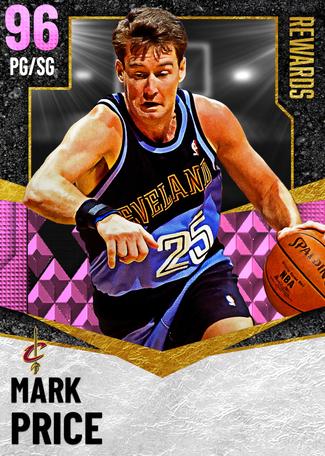 '98 Mark Price pinkdiamond card