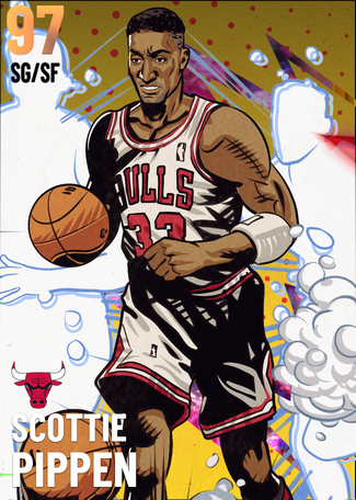 '95 Scottie Pippen opal card