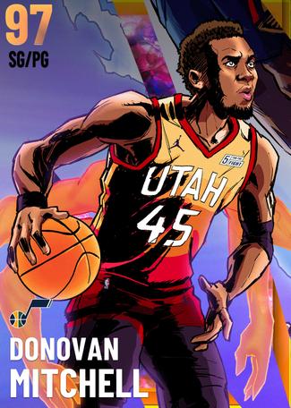 Donovan Mitchell opal card