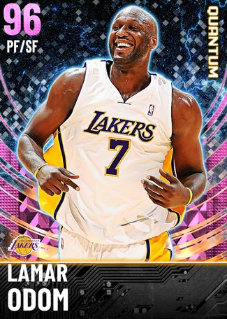 Lamar Odom pinkdiamond card