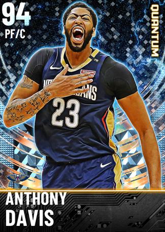 Anthony Davis diamond card