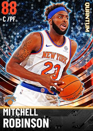 Mitchell Robinson ruby card
