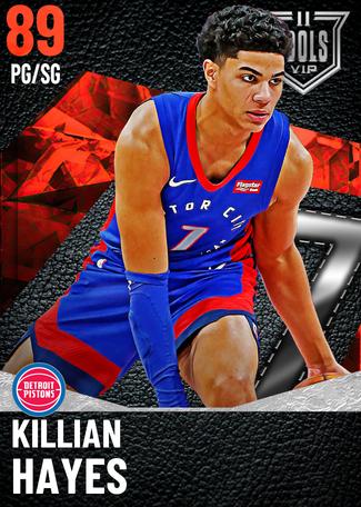 Killian Hayes ruby card