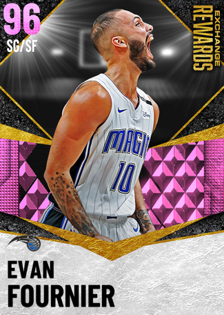 Evan Fournier pinkdiamond card
