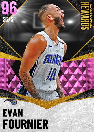 Evan Fournier pinkdiamond card
