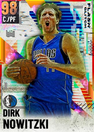 '98 Dirk Nowitzki opal card