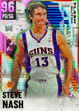 '05 Steve Nash pinkdiamond card