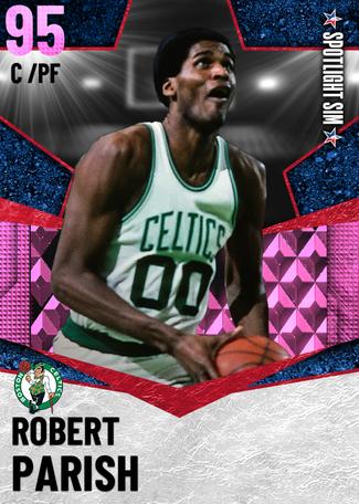 '81 Robert Parish pinkdiamond card