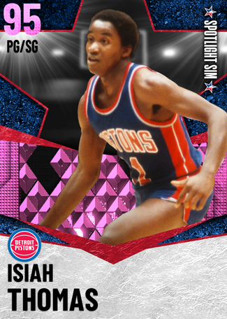 '82 Isiah Thomas pinkdiamond card
