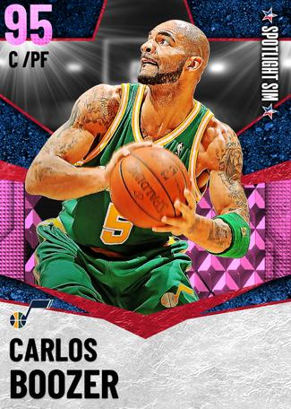 '07 Carlos Boozer pinkdiamond card