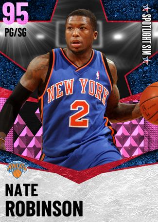 Nate Robinson pinkdiamond card