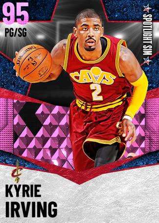 Kyrie Irving pinkdiamond card