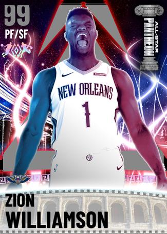 Zion Williamson dark_matter card