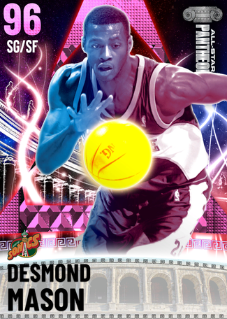'18 Desmond Mason pinkdiamond card